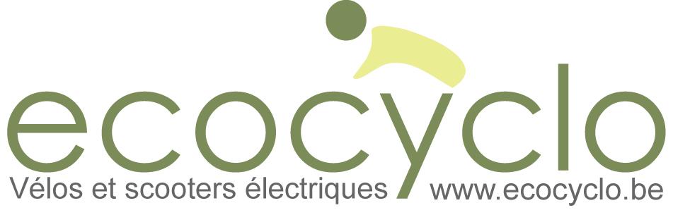 Logo du magasin ecocyclo spécialisé en vélos électriques et trottinettes électriques